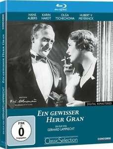 Ein gewisser Herr Gran (1933)[Blu-ray/NEU/OVP] Hans Albers, Karin Hardt, Albert