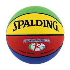 Spalding 74-281E Rookie Gear Multi Colored Youth Basketball 27.5-inch