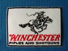 WINCHESTER RIFLES AND SHOTGUNS RIFLE GUN MILITARY SEW ON IRON ON PATCH BADGE