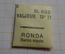 3 neuwertige Aufzugswellen für Valjoux Chronograph 13`` 77,Ronda 852