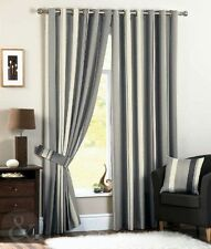 Just Contempo Polyester Striped Curtains & Pelmets