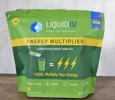 Liquid I.V. Energy Multiplier 24 Individual Supercharged Matcha Lemon Ginger