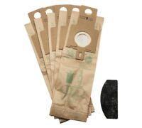 Pack de 5 véritable aspirateur H20 Sac à poussière d'aspirateur et FILTRE