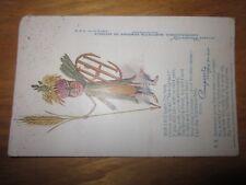 1910 International Harvester Company Advertising Postcard