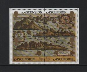 ASCENSION ISLAND 1981 EARLY MAPS M/SHEET (MS301)  *VF MNH*