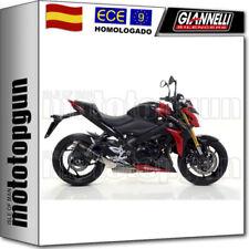 Escape y sistemas de escape Giannelli para motos Suzuki
