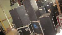 """QTY ( 4 ) ACLON Passive Line Array Module Speakers LAT212A 2X12""""& 3"""""""