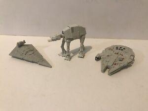 Star Wars Micro machines (LFL) AT-AT, Star Destroyer & Millennium Falcon