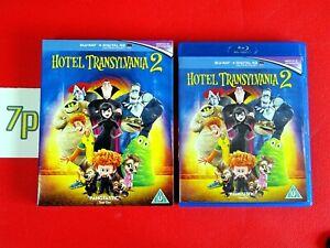 Hotel Transylvania 2 (BLU-RAY +SLIP COVER) ✔️ VGC