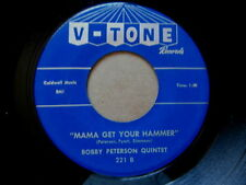 BOBBY PETERSON QUINTET~MAMA GET YOUR HAMMER~NORTHERN SOUL 45 ( STORE STOCK)