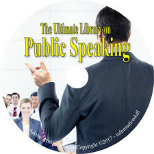 25 Books on CD, Ultimate Library on Public Speaking, Dale Carnegie Develop Power