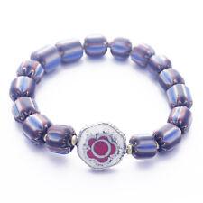 Cuentas de Cristal Elastizado pulsera 7.5 Tibetano NEPALÍ Handmade Tibet Nepal