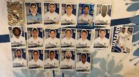 TOPPS UEFA CHAMPIONS LEAGUE 2020/21 FULL TEAM SET OF ALL 18 REAL MADRID STICKERS