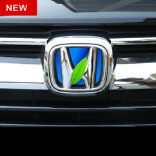 For HONDA 2017-2018 CRV CR-V Auto Car Front Logo Badges Blue H Emblems