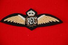 SUPERB COPY ROYAL FLYING CORPS RFC PILOTS WING WW1 BRITISH FLAT #2