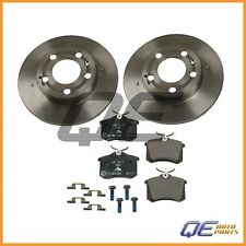 Brembo Rear Rotors with Ate Pads Brake Kit For VW Golf Jetta Beetle 1.8T 2.5 2.8