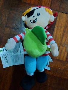 Manhattan Tooth Fairy Pals - Pirate - Cute 17cm toy
