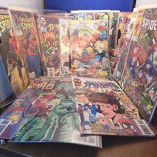 Huge Lot of 50 Vintage MARVEL SPIDER-MAN COMIC BOOKS COMICS VGC