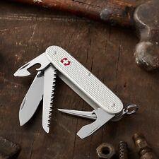 Victorinox Swiss Army Knife - Farmer - Silver Alox - Free Shipping