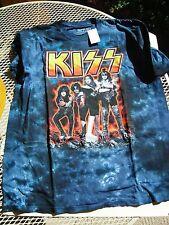 KISS t-shirt new, never worn, Farewell design tye dye, MEDIUM