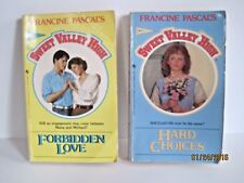 Sweet Valley High by Francine Pascal, Lot of 2