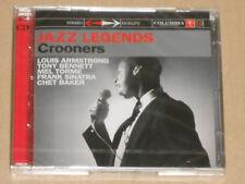 JAZZ LEGENDS -Crooners- (Armstrong, Sinatra, Bennett, Baker...) 2xCD NEU, OVP