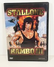 Rambo III DVD 1988  (EXCELLENT CONDITION)