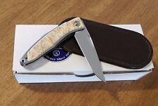 CHRIS REEVE New Left Hand Box Elder Mnandi Gent's Knife S35VN Bld Knife/Knives