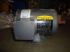 "BALDOR RELIANCE M3542 3/4 HP ELECTRIC MOTOR 3 PHASE 1/2"" SHANK"