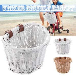 Storage Front Handlebar Kids Bike Shopping Box Childrens Cycle Bicycle Basket