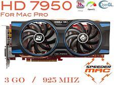  Radeon HD 7950 for Mac Pro 3.1 ~ 5.1 AMD  3GB Ram GDDR5 925Mhz, 4k,  Metal