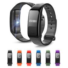 Bracelet Blood Pressure Pulse Monitor Heart Rate Sphygmomanometer Watch Phone