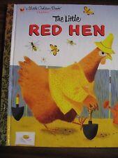 A LIttle Golden Book  The Little RED HEN 1982 hardback