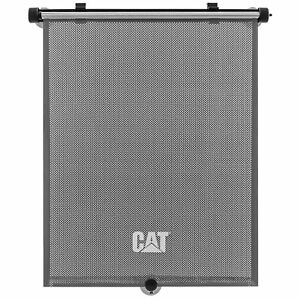 Caterpillar 1PC Retractable Side Window Sunshade, Universal Fit for All Vehicles