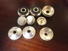 Bach Stradivarius trumpet--replacement silver valve caps, buttons, tops.