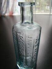Early Crude Antique 12 Sided ATWOOD'S JAUNDICE BITTERS Medicine Bottle