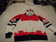 "STAR WARS Marc Ecko ""Shock Trooper"" Red Clone Trooper Hoodie New with tags L"