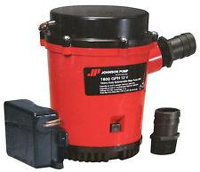 Johnson Pump, Ultima Combo Automatic Submersible Bilge Pump 1600 GPH - 01674-001