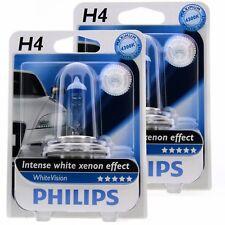 2x H4 Philips WhiteVision Intensive Xenon Effekt 4300K 12342WHV Halogen Blister