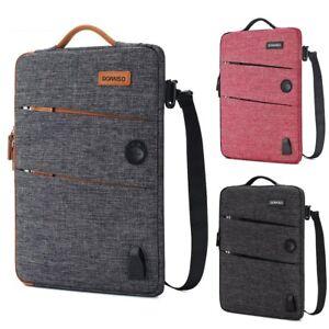 Waterproof Laptop Sleeve Business Shockproof Bag with USB Charging Port