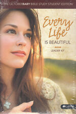New Sealed Dvd Kit! Every Life Is Beautiful Leader Kit, October Baby Bible Study