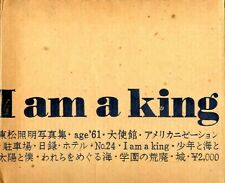 SHOMEI TOMATSU Photo Book I AM A KING 1972 Japan original case  good super rare