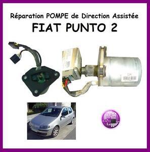 REPARATION de POMPE Direction Assistée FIAT PUNTO 2