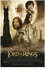 LORD OF THE RINGS TWO TOWERS MOVIE POSTER 2S + BONUS !!