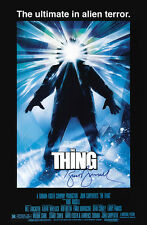 THE THING Kurt Russell AUTOGRAPH MOVIE POSTER A2 594 x 420mm (Very Rare)