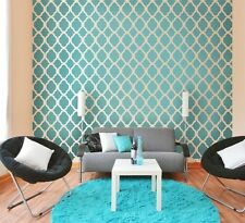 Rabat Moroccan Stencil Design - LARGE - DIY Reusable Stencils for Wall Decor