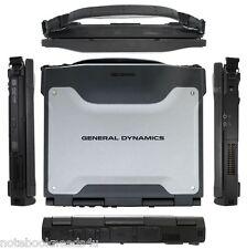 General Dynamics Rugged Toughbook GD6000 Core2 WiFi 2.53ghz 8gb 750gb Win 7 Pro