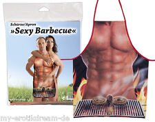 Grillschürze  Sexy Barbecue  Schürze  Kochschürze  Erotik  GAG  Nackter Mann