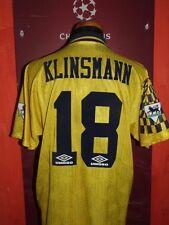 KLINSMANN TOTTENHAM 1994.1995 MAGLIA SHIRT CALCIO FOOTBALL MAILLOT JERSEY SOCCER