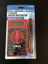 New Cen Tech Digital Volt Ohm Amp Meter 7 Function Multimeter 69096 New
